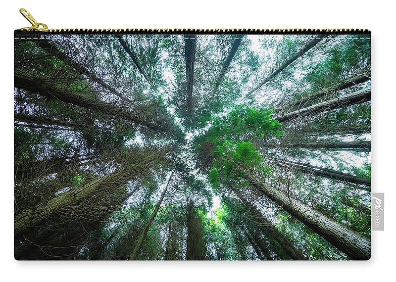 Effect Carry-all Pouch featuring the photograph From Below by Jose maria Luis marquez