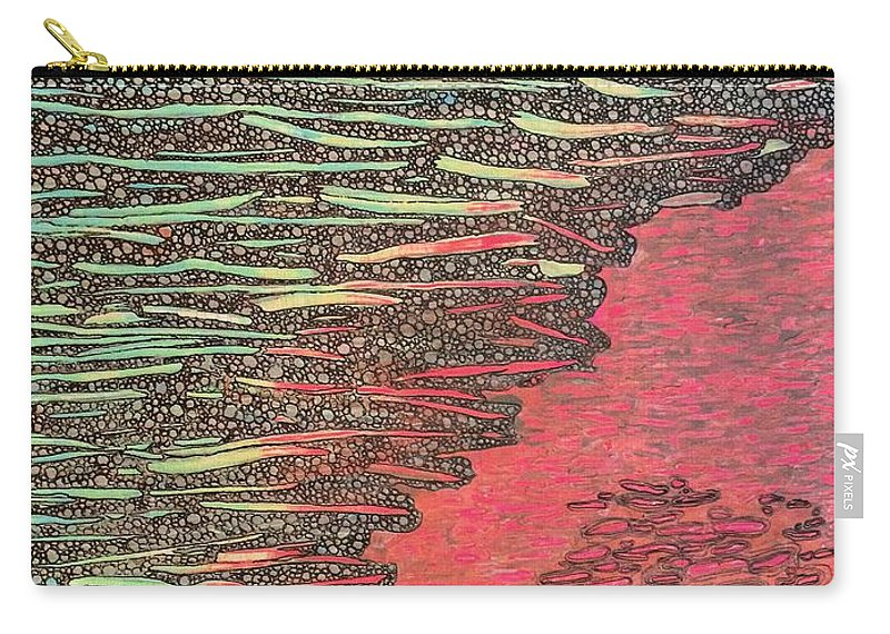 Painting Carry-all Pouch featuring the painting From Florida by Natalie Gates