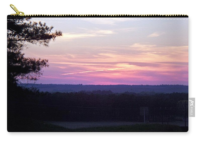 Sunset Carry-all Pouch featuring the photograph From Here To Eternity by Betty Northcutt