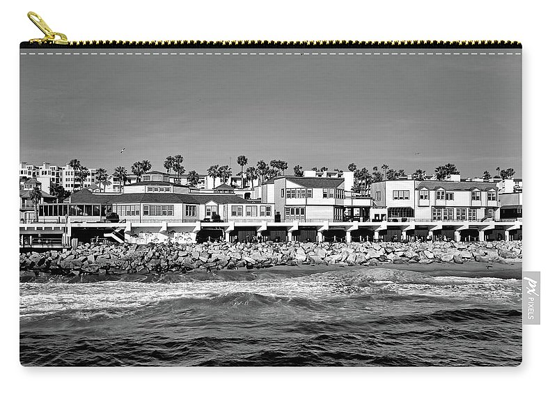 Redondo Beach Carry-all Pouch featuring the photograph From Redondo Beach Pier by Robert Meyers-Lussier