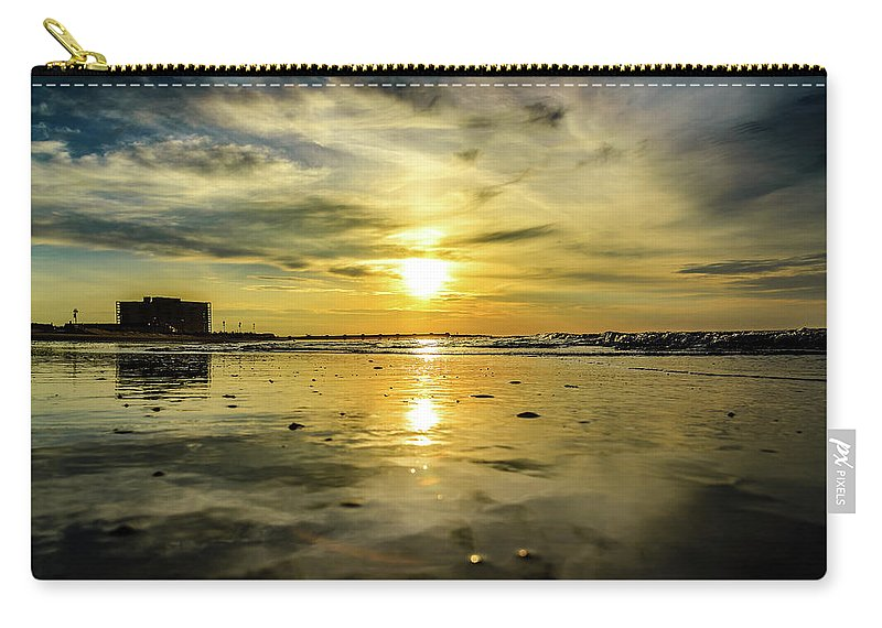 J. Zaring Carry-all Pouch featuring the photograph From The Surface by Joshua Zaring