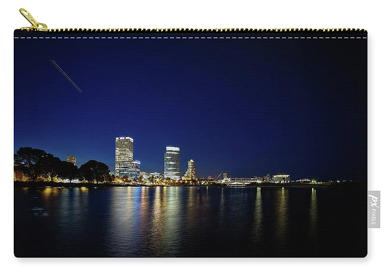 Www.cjschmit.com Carry-all Pouch featuring the photograph From Where I Stand by CJ Schmit