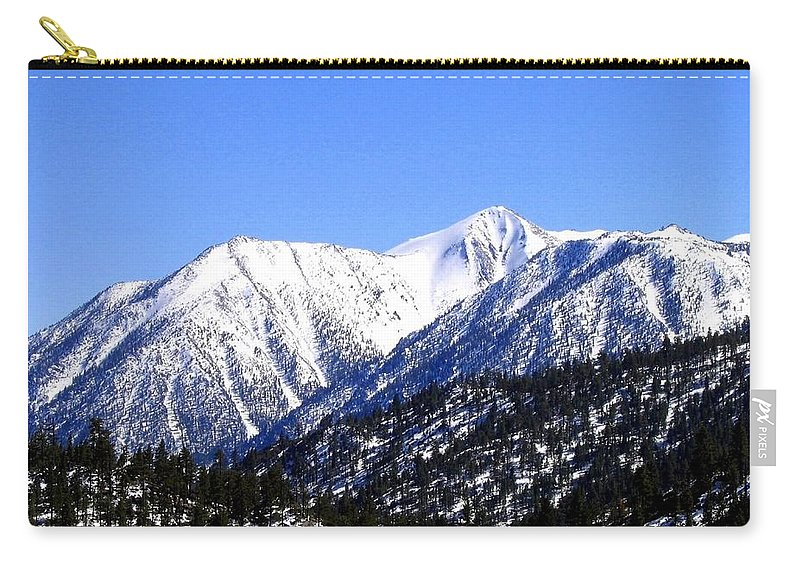 Mountain Carry-all Pouch featuring the photograph Frontier Splendor by Will Borden
