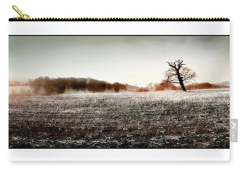 Landscape Carry-all Pouch featuring the photograph Frosty Landscape by Mal Bray