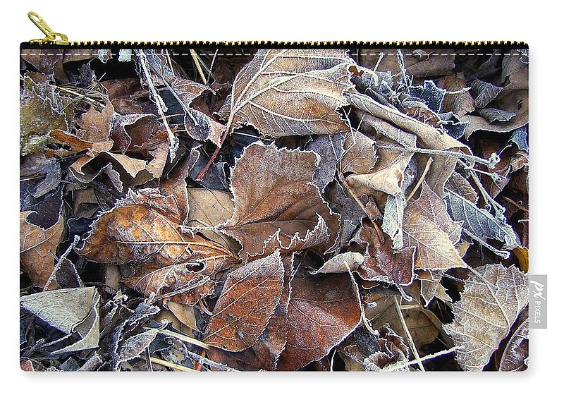 Frozen Carry-all Pouch featuring the photograph Frozen by JAMART Photography