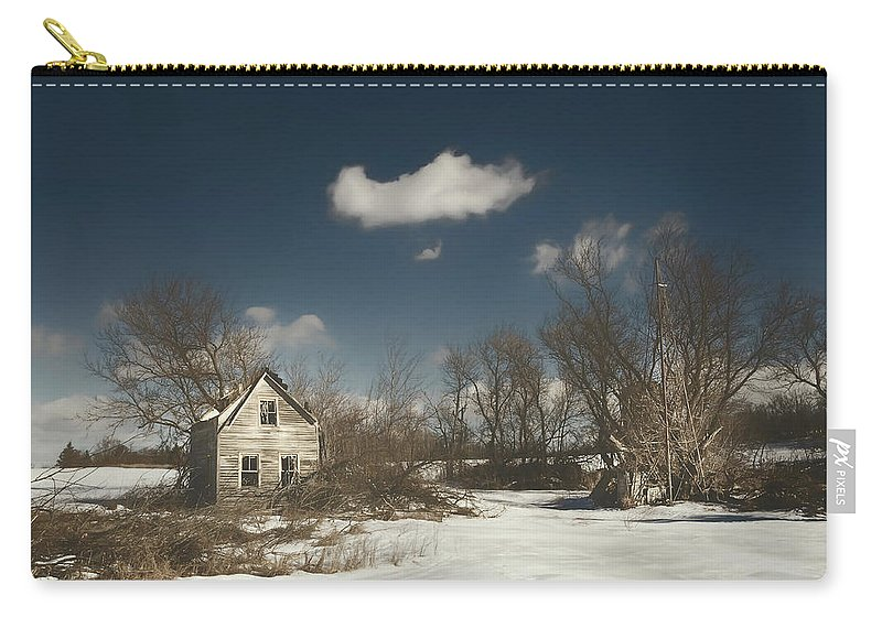 House Carry-all Pouch featuring the photograph Frozen Stillness by Scott Norris