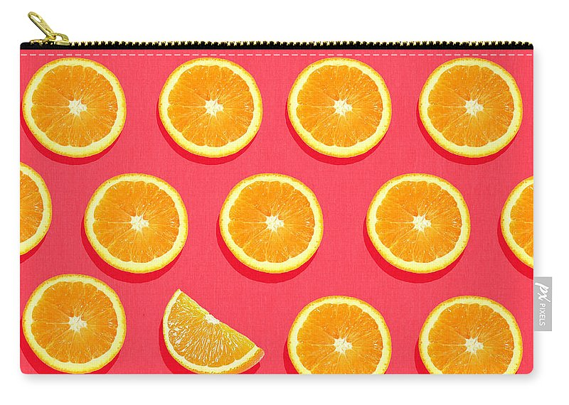 Abstract Carry-all Pouch featuring the painting Fruit 2 by Mark Ashkenazi