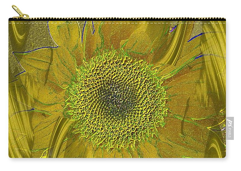 Flower Carry-all Pouch featuring the photograph Fulfillment by Tim Allen