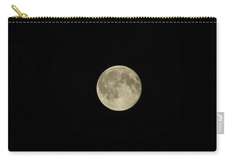 Karen Silvestri Carry-all Pouch featuring the photograph Full Moon July 2015 by Karen Silvestri