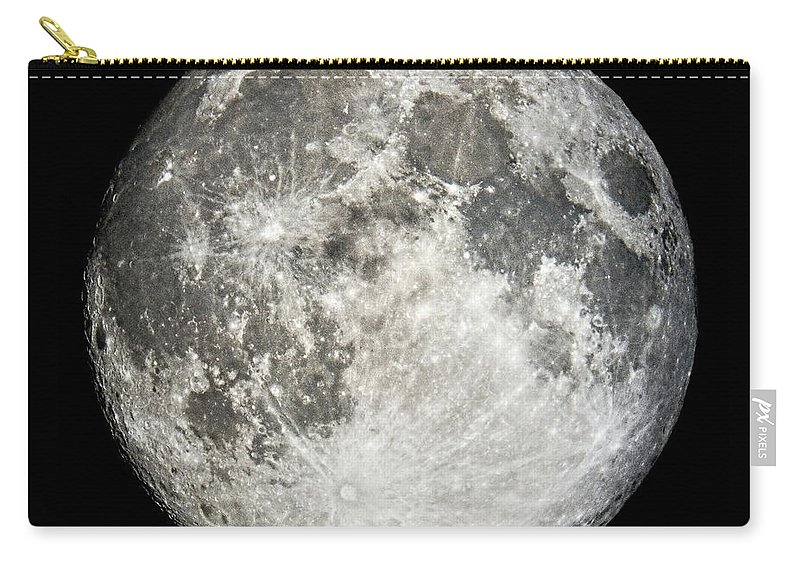 Full Moon Carry-all Pouch featuring the photograph Full Moon Rising by Weston Westmoreland