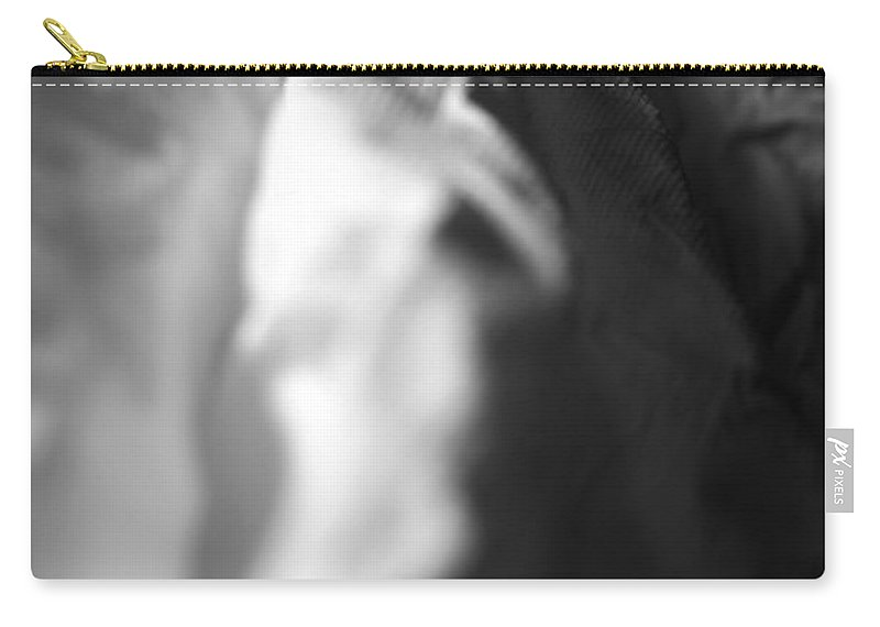 White Carry-all Pouch featuring the photograph Full Of Empty Series - Paths by Amanda Barcon