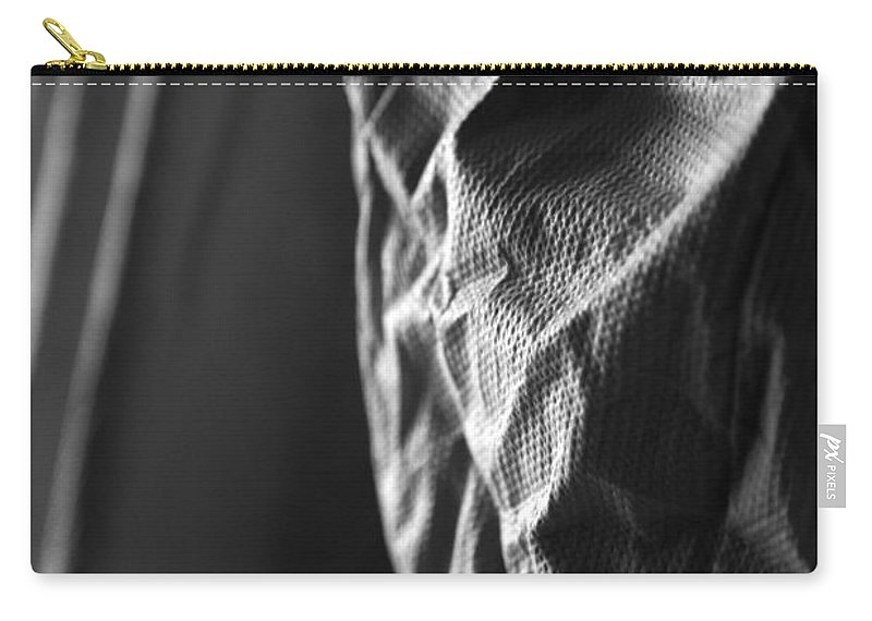 White Carry-all Pouch featuring the photograph Full Of Empty Series - Solid by Amanda Barcon
