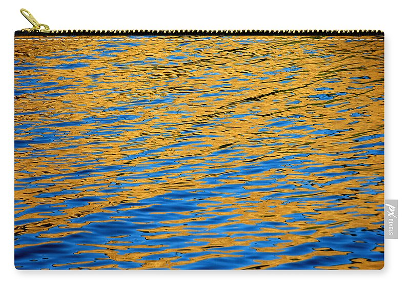 Water Carry-all Pouch featuring the photograph Fully Involved by Donna Blackhall