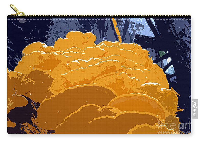 Fungi Carry-all Pouch featuring the photograph Fungi Work Number 4 by David Lee Thompson