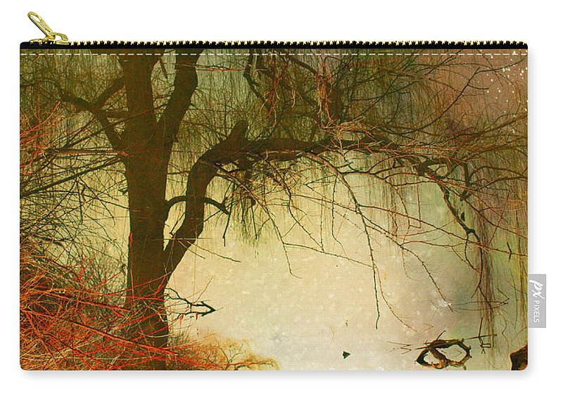 Refections Carry-all Pouch featuring the photograph Funky Reflections 2 by Tara Turner
