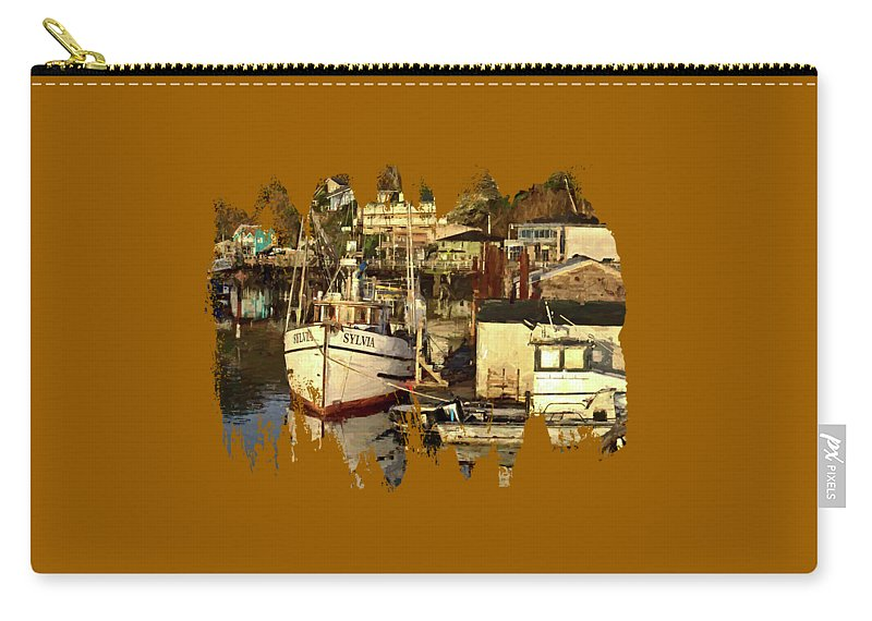 F/v Sylvia Carry-all Pouch featuring the photograph Sylvia by Thom Zehrfeld