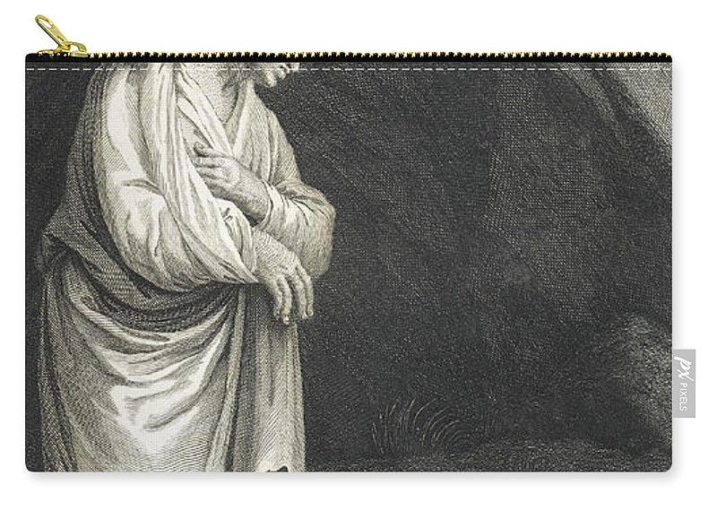 Art Carry-all Pouch featuring the photograph Galen, Greek Physician And Philosopher by Wellcome Images