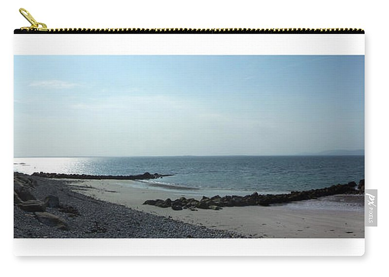 Irish Carry-all Pouch featuring the photograph Galway Bay At Salt Hill Park Galway Ireland by Teresa Mucha