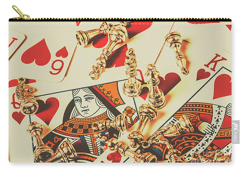 Love Carry-all Pouch featuring the photograph Games Of Love by Jorgo Photography - Wall Art Gallery