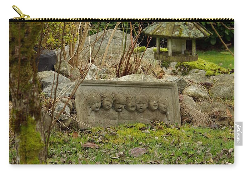 Garden Carry-all Pouch featuring the photograph Garden Babies by Cindy Johnston