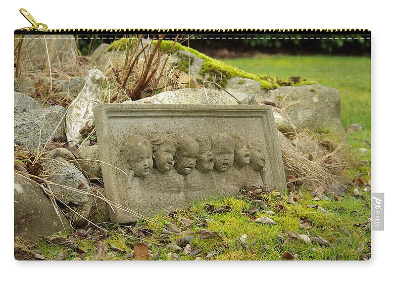Garden Carry-all Pouch featuring the photograph Garden Babies II by Cindy Johnston