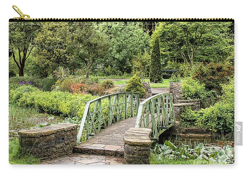 Garden Carry-all Pouch featuring the photograph Garden Dublin by Catherine Balfe