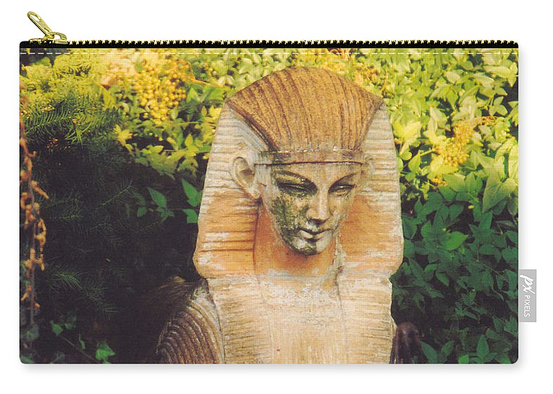 Still Life Carry-all Pouch featuring the photograph Garden Guardian by Jan Amiss Photography