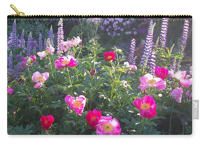 Garden Party Carry-all Pouch featuring the photograph Garden Party by Quin Sweetman