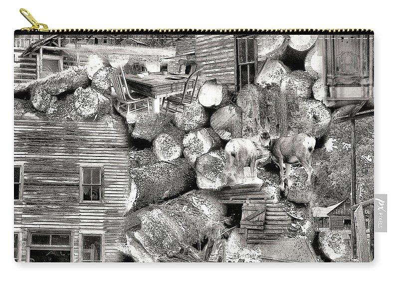 Garnet Montana Carry-all Pouch featuring the photograph Garnet Montana by Susan Kinney
