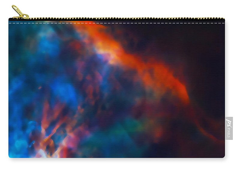 Nebula Carry-all Pouch featuring the photograph Gas Plume Orion Nebula 2 by Jennifer Rondinelli Reilly - Fine Art Photography