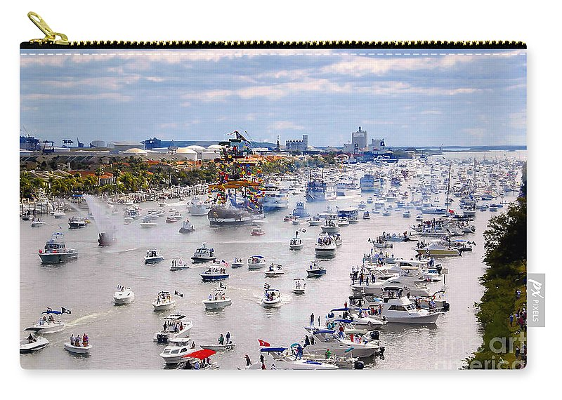 Jose Gasparilla Carry-all Pouch featuring the photograph Gaspar by David Lee Thompson