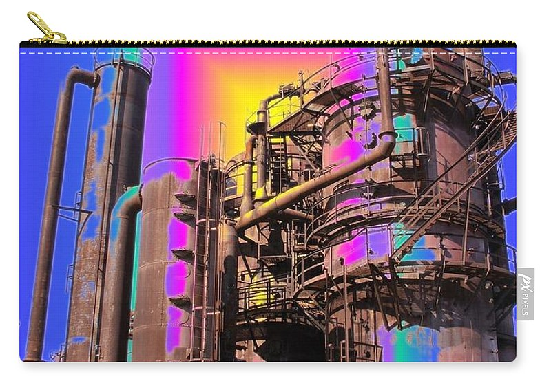 Seattle Carry-all Pouch featuring the photograph Gasworks Park 3 by Tim Allen
