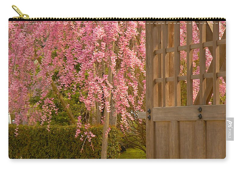 Japan Carry-all Pouch featuring the photograph Gate by Sebastian Musial