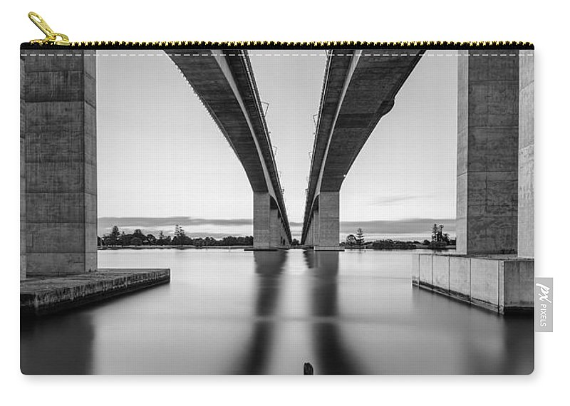 Gateway Bridge Carry-all Pouch featuring the photograph Gateway Bridge Brisbane by Charles King