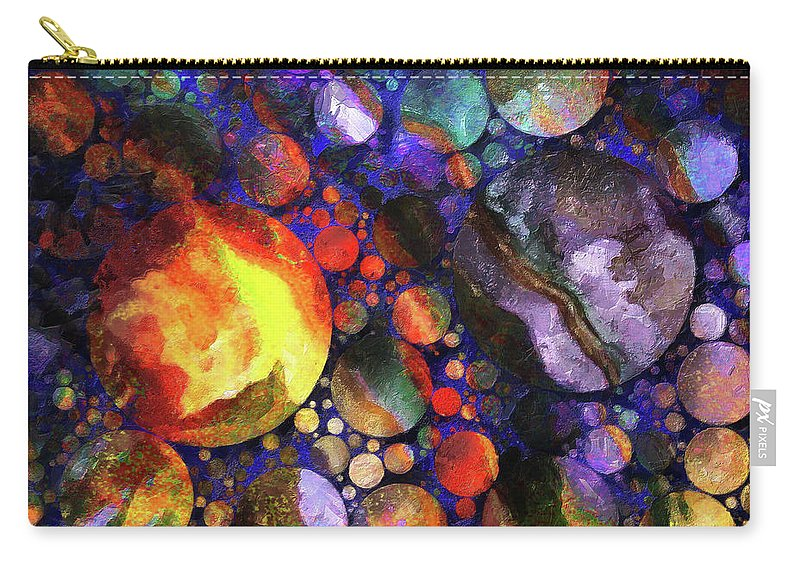 Susaneileenevans Carry-all Pouch featuring the photograph Gathering Of The Planets by Susan Eileen Evans