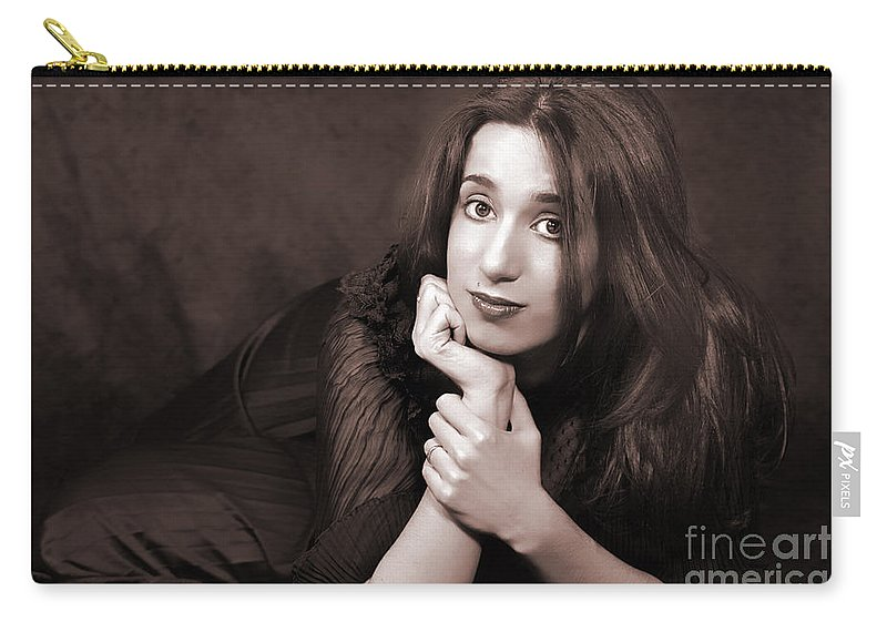 Clay Carry-all Pouch featuring the photograph Gaze by Clayton Bruster
