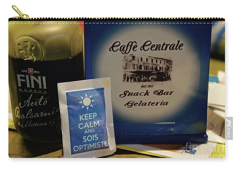 Gelateria Carry-all Pouch featuring the photograph Gelateria by Photos By Zulma