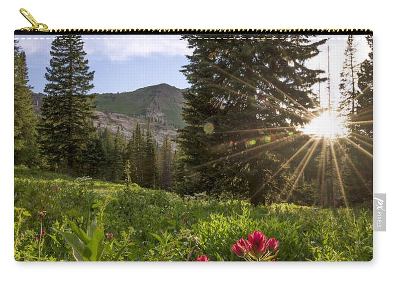 Gem Carry-all Pouch featuring the photograph Gem by Chad Dutson