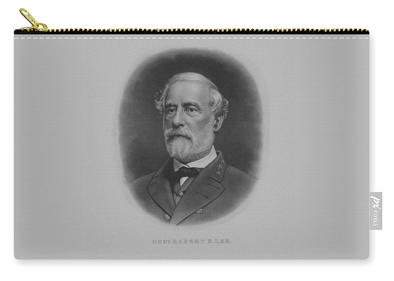 General Lee Carry-all Pouch featuring the painting General Robert E. Lee Print by War Is Hell Store