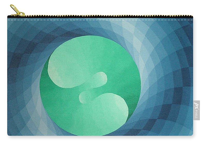 Oil Carry-all Pouch featuring the painting Genesis 4 by Peter Antos
