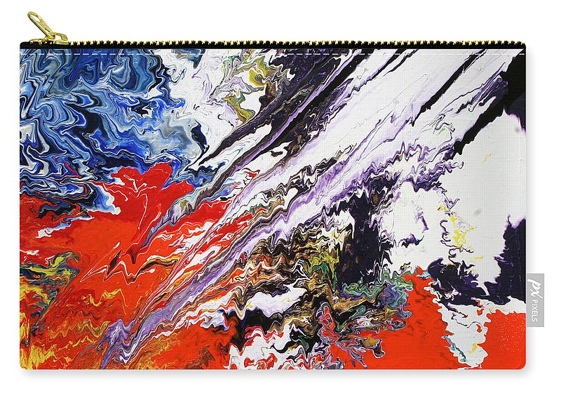 Fusionart Carry-all Pouch featuring the painting Genesis by Ralph White