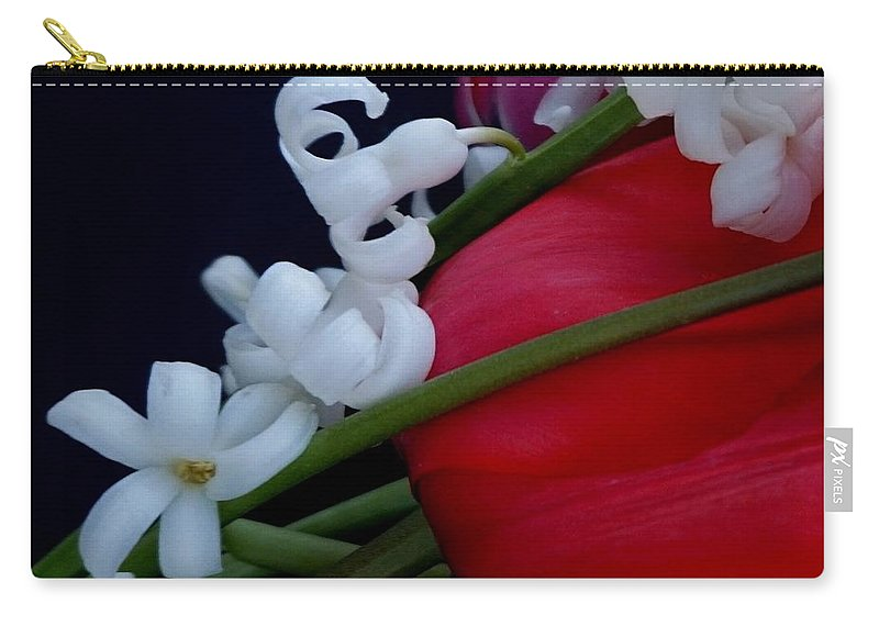 Hyacinth Carry-all Pouch featuring the photograph Gentle Breeze by Lisa Kaiser