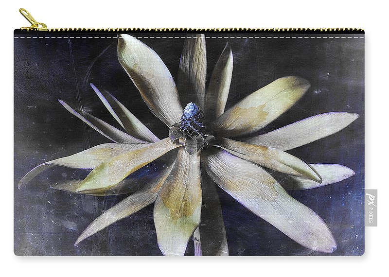 Flora Carry-all Pouch featuring the photograph Genus Protea by Wayne Sherriff