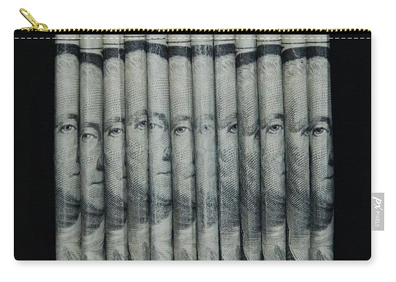 Money Carry-all Pouch featuring the photograph George by Rob Hans