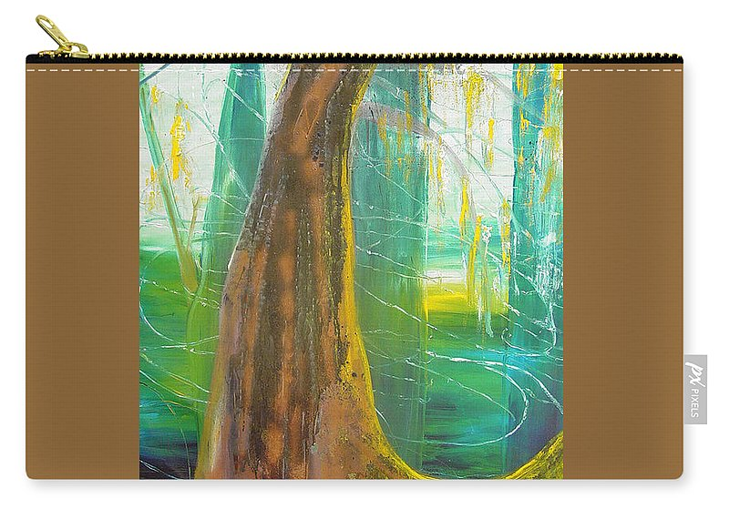 Landscape Carry-all Pouch featuring the painting Georgia Morning by Peggy Blood