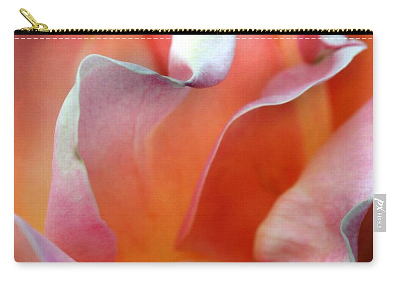 Flowers Carry-all Pouch featuring the photograph Georgias Rose by Norman Andrus