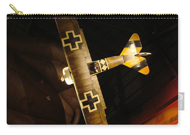 Usaf Museum Carry-all Pouch featuring the photograph German Wwi Attack by Tommy Anderson
