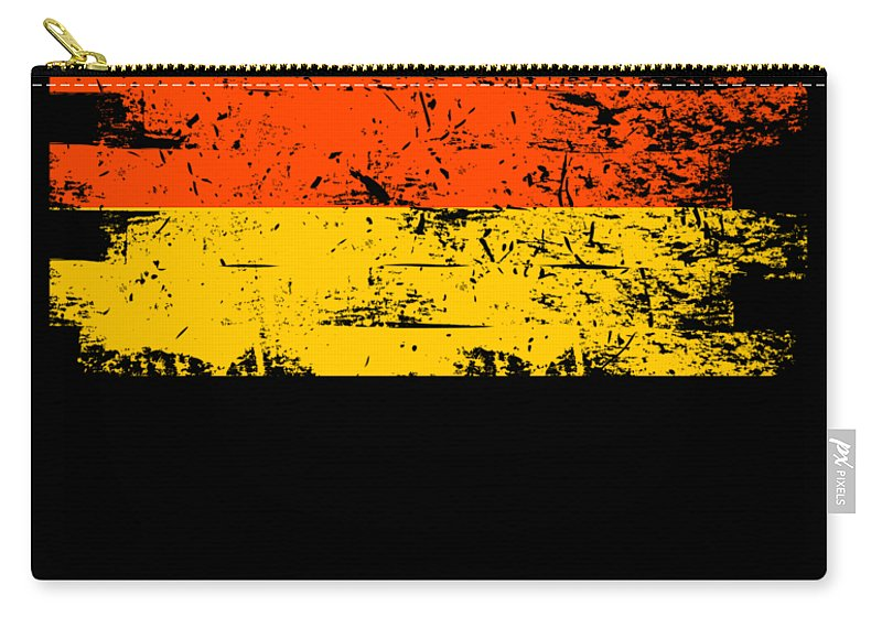 Patriotic Carry-all Pouch featuring the digital art Germany Gift Country Flag Patriotic Travel Shirt Europe Light by J P