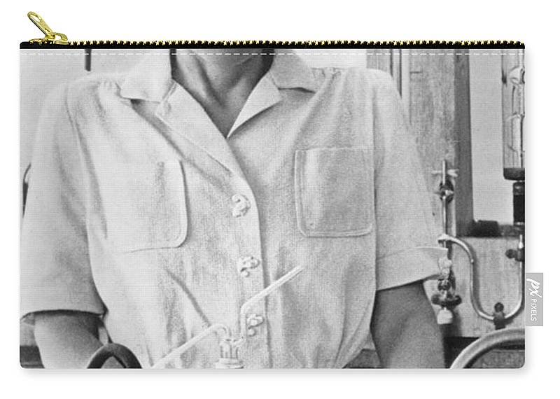20th Century Carry-all Pouch featuring the photograph Gerty Theresa Cori by Granger