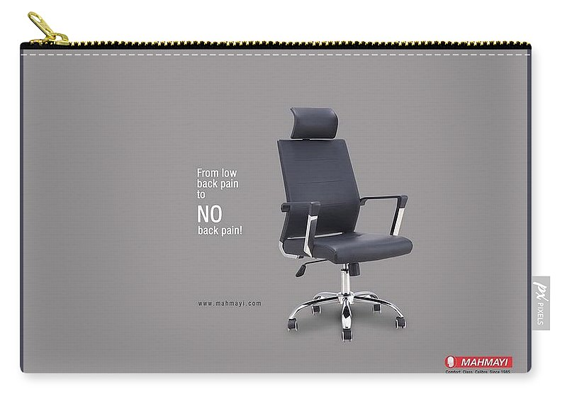 Office Furniture Chairs Carry-all Pouch featuring the painting Get Low Rates Office Furniture Chairs In Dubai by David Gofin